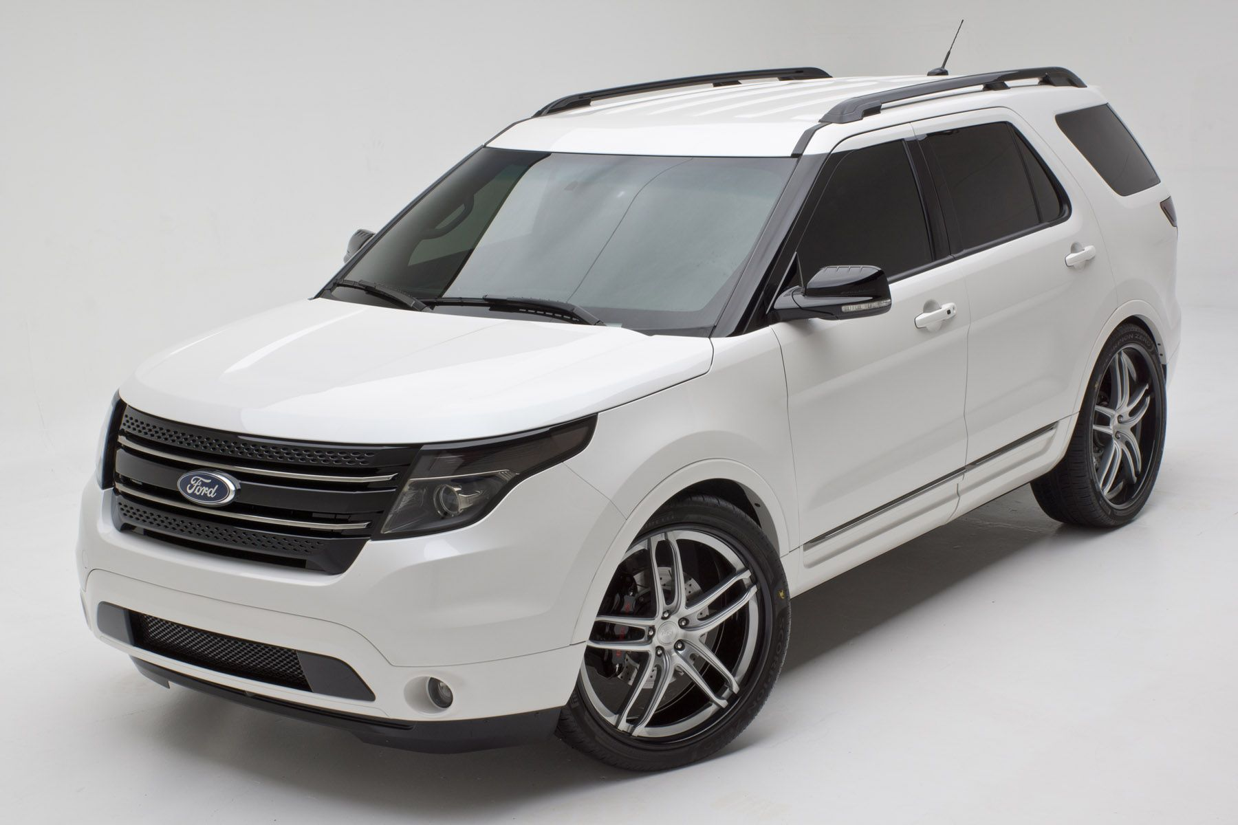 2012 ford explorer limited by dso eyewear exterior basf pearl tri coat white finished - Ford Explorer 2012 Black