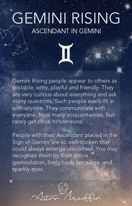 What does zodiac rising mean