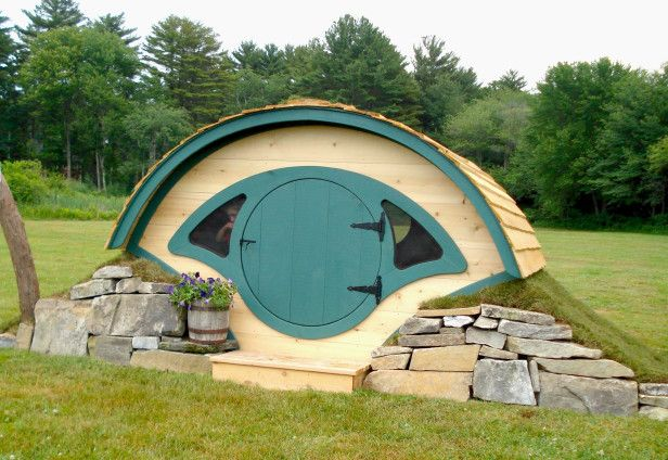 A Cozy Hobbit House