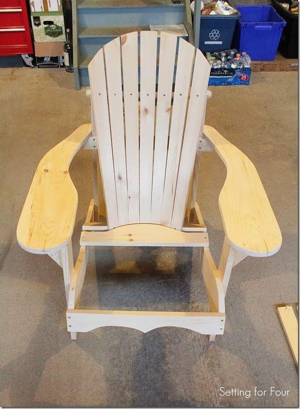Howto Assemble an Adirondack Chair