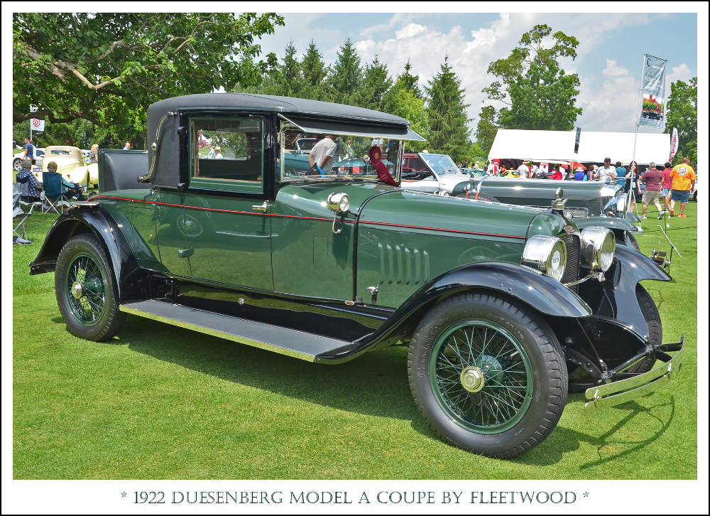1922 Duesenberg Model A Coupe by Fleetwood   The July 28, 20…   Flickr