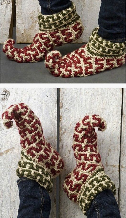 Crochet Elf Slippers Tutorial Easy Video Instructions