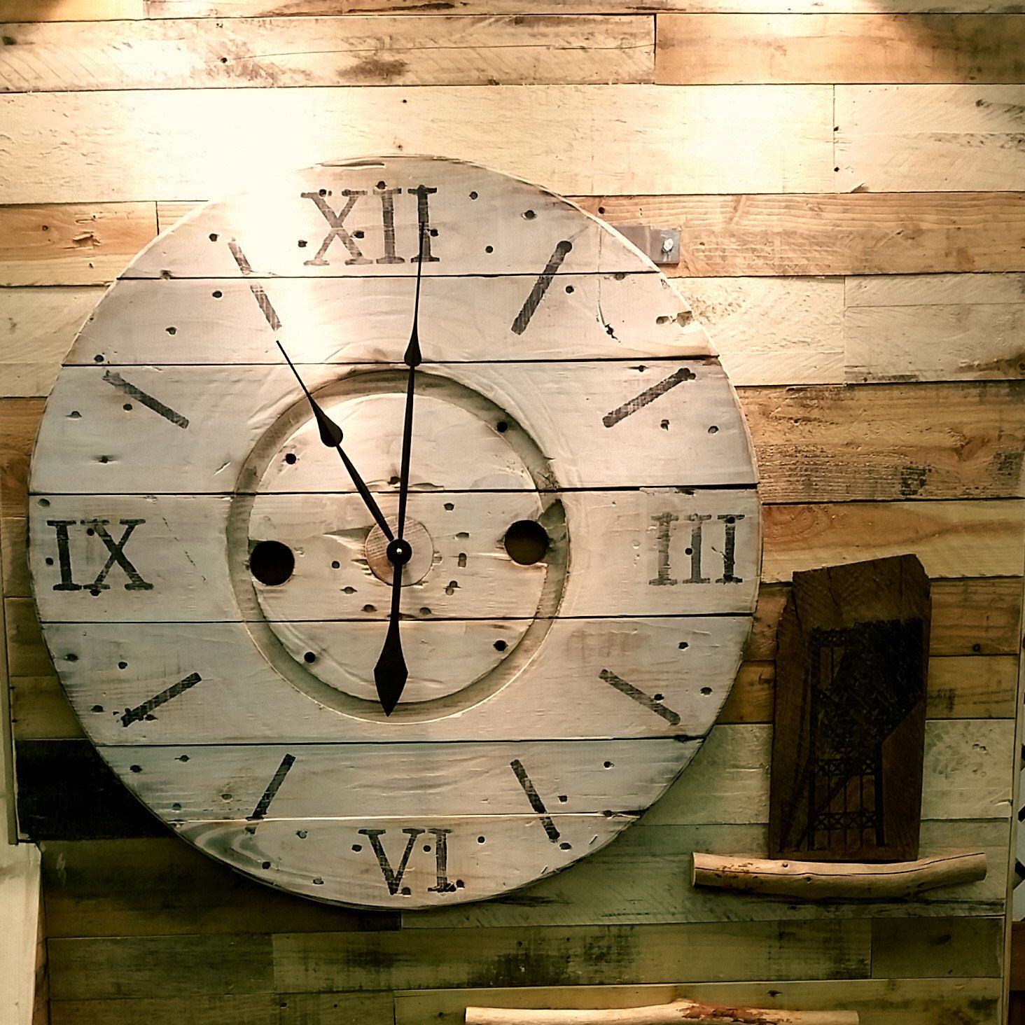 Cool Clock Hands Pin By Melodee May On Cable Spools In 2019 Wire Spool