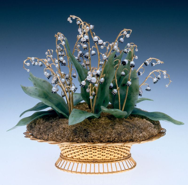 Растения и животные из камня - шедевры Фаберже   Ische