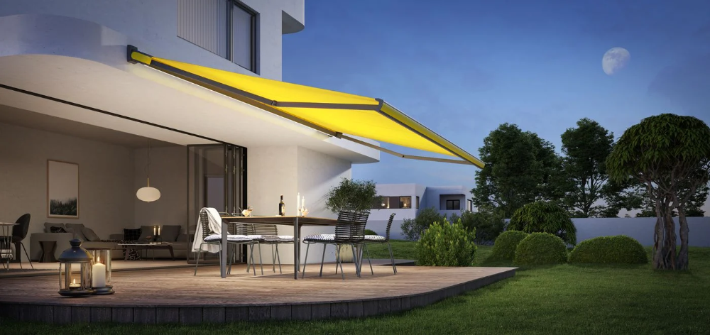 Markilux Retractable Awnings Shading Solutions For Patio And Balcony In 2020 Patio Awning Retractable Canopy