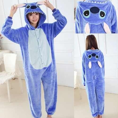 d6f1bae8ed Kigurumi Stitch Bordado Plush Pijama Disfraz Stock -   1.400