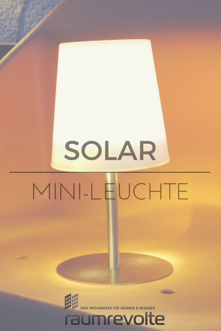Solar Led Leuchte Checkmate 1 Von Gacoli Für Den Garten