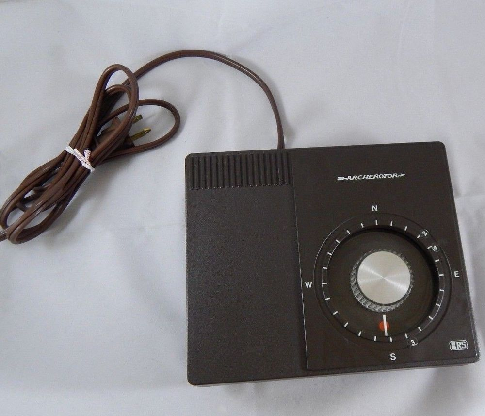 Radio Shack IRS Archerotor Rotator Control Box for Ham Radio Antenna