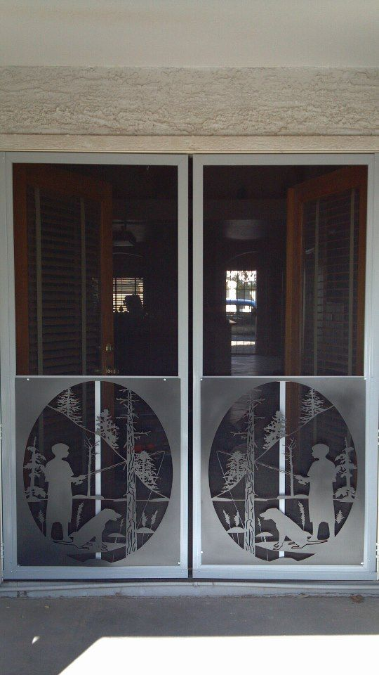 Screen Door Protectors Our Metal Art Creations Screen