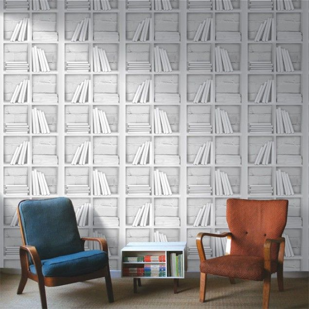 Faux Effect Wallpaper by Chalk Decor | Wallpaper, Lofts and Spare room