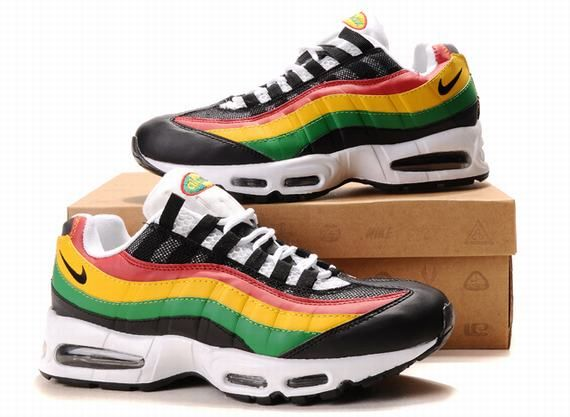 Nike Air Max 95 Mens Rasta | Air Max 95 | Air max 95 mens
