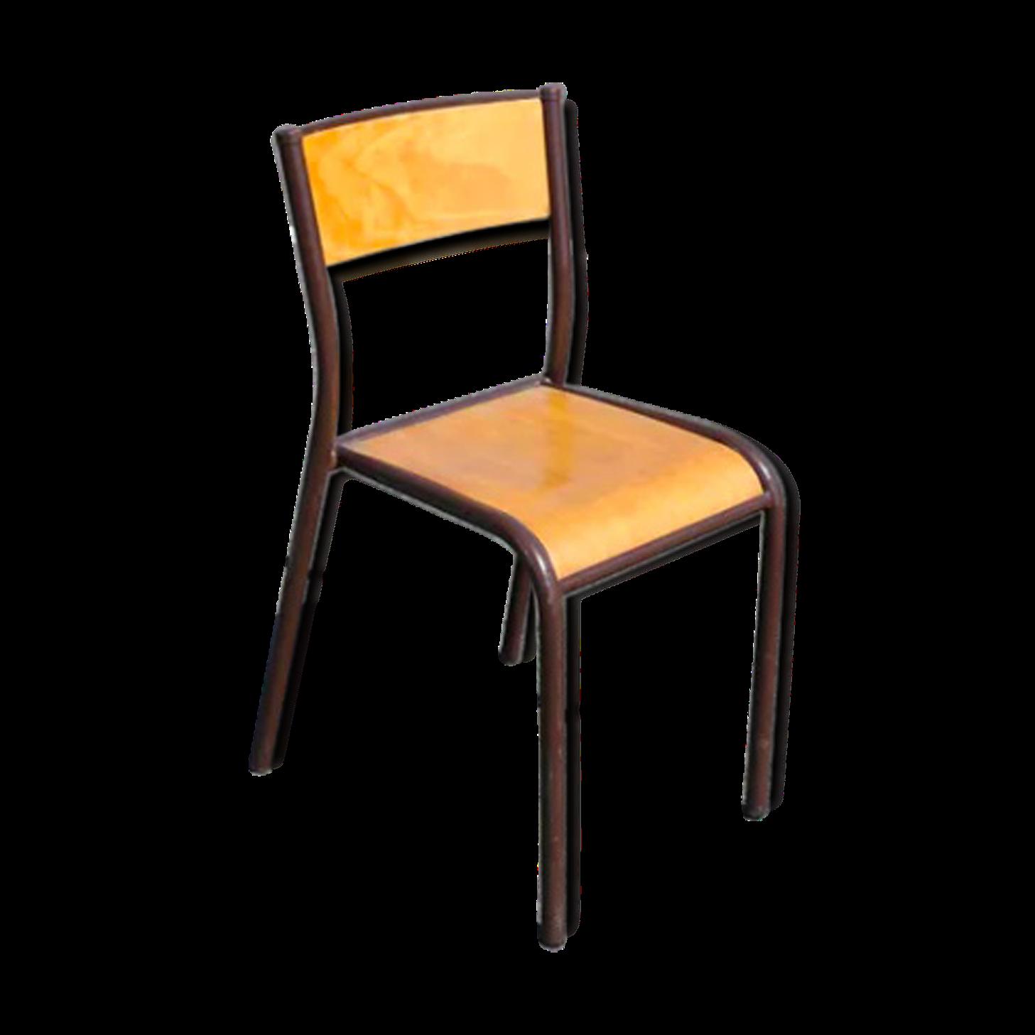 Chaise D École Mullca chaise d'école mullca en bois | chaise, chaises bois, bois