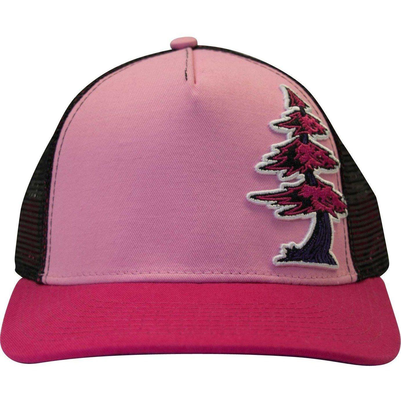 Curved Bill Redwood Puff Custom Women s Snap Hat  804fb47b720f