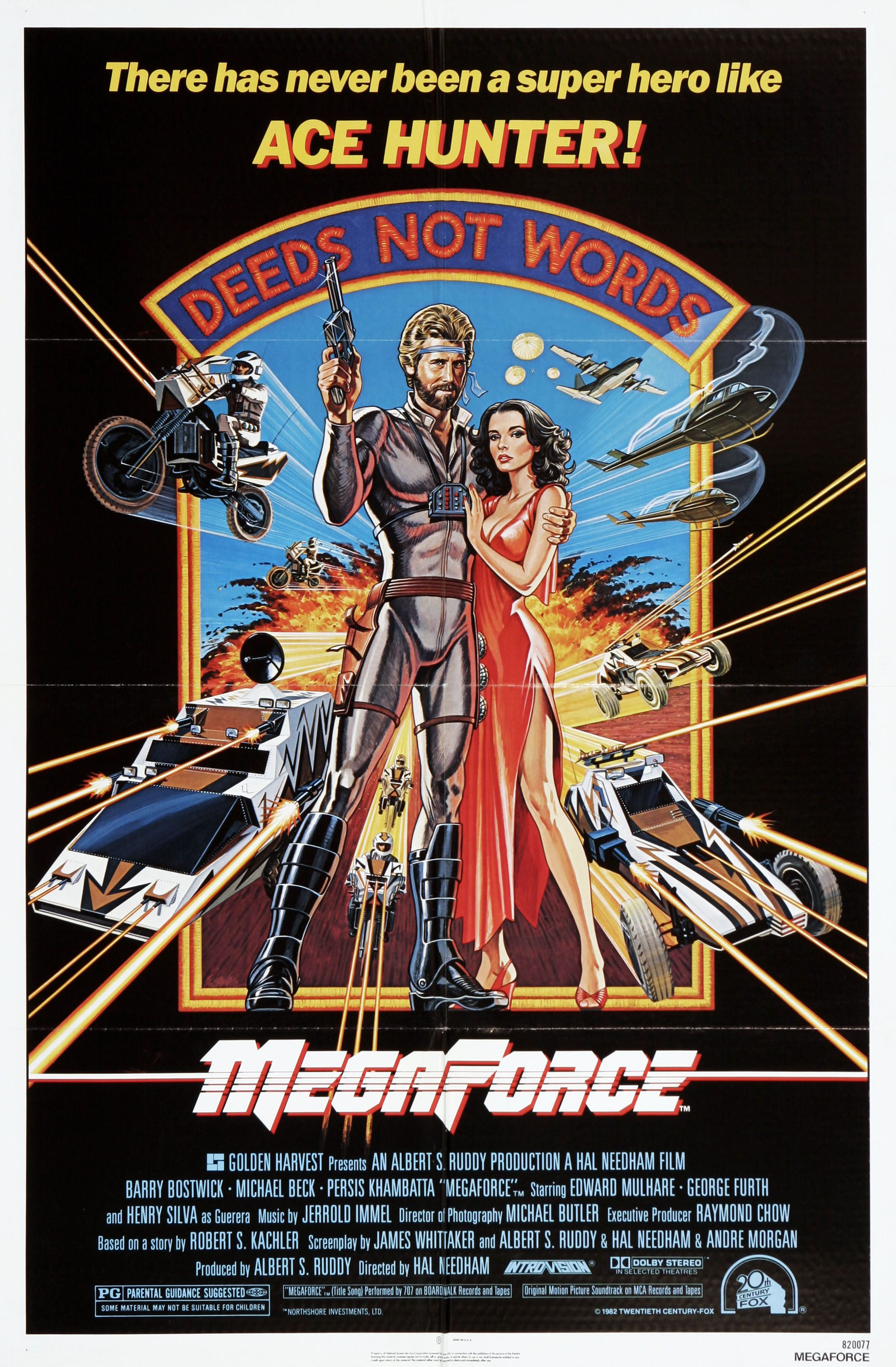 Rae Dawn Chong Lesbian Top megaforce (1982) | 80's sci-fi b-movie posters! | pinterest
