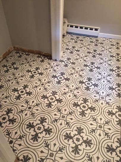 Merola Tile Twenties Vintage Ceramic Floor And Wall 7 3 4 In X Sample Frc8twvt At The Home D Inexpensive Flooring