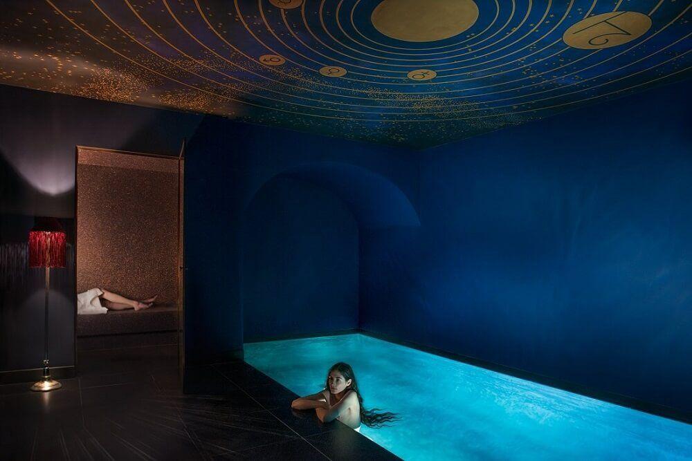 Piscine interieure - Hotel Maison Souquet - Paris COOL - hotels - location villa piscine couverte chauffee