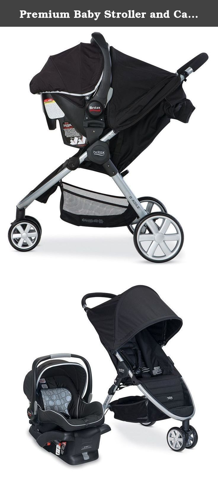 Britax Car Seat With Stroller Premium Baby Stroller And Car Seat Combo Pram Travel System