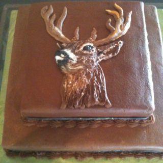 Deer Hunter grooms cake! granburycakes.com