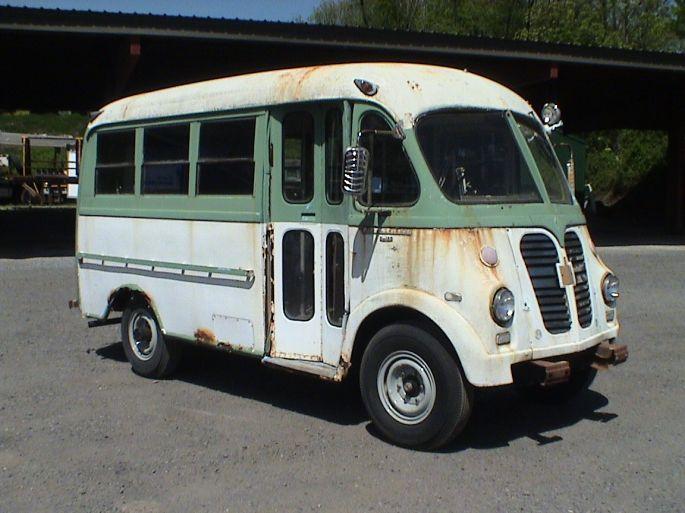 International S-120 Series 1956 For Sale. $18k I love this bus/van!