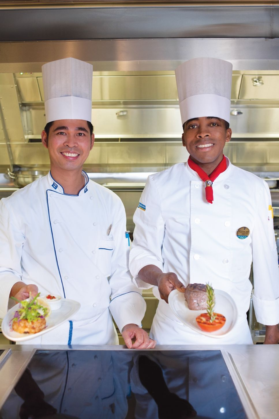 Chops Grille Chefs Onboard 'Allure Of The Seas'