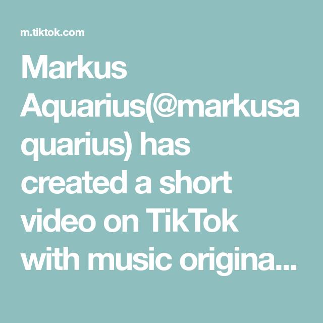 Markus Aquarius Markusaquarius Has Created A Short Video On Tiktok With Music Original Sound Baby Hacks Like For More Babiesoftikt In 2021 Music Baby Hacks Video