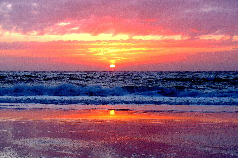 Coucher Soleil Ocean1 Santa Mila En 2020 Coucher De Soleil Paysage Coucher De Soleil Paysage Panoramique