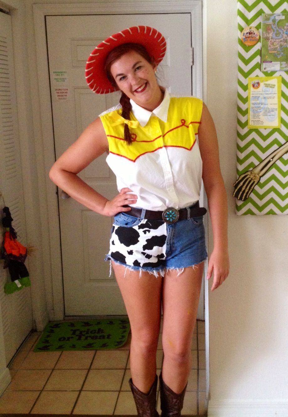 Jessie From Toy Story Homemade Costume Halloween Ideas Toy