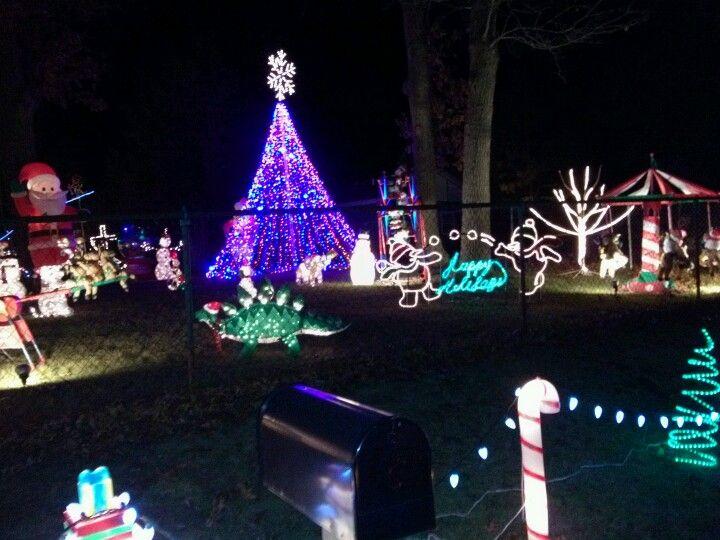 Wheatfield Indiana Christmas lights  decor Beautiful Pinterest