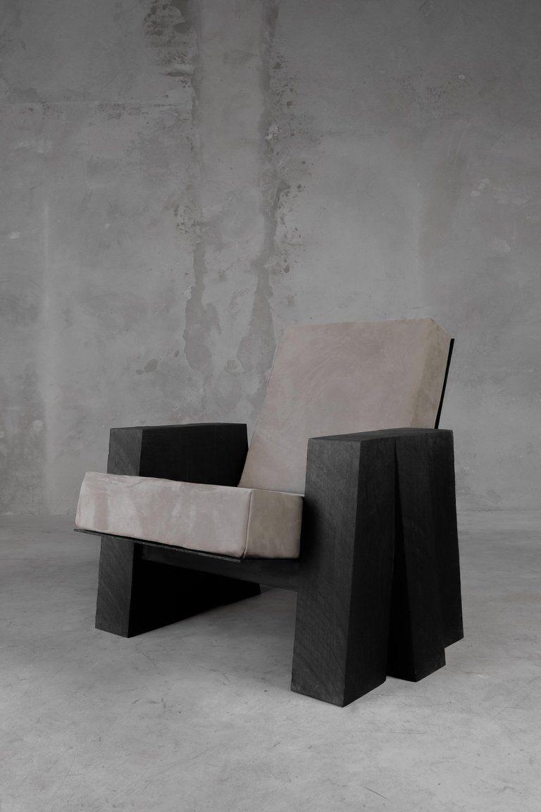 Pleasant Arno Declercq Ad Sculpted Iroko Wood Modern Belgian Lounge Alphanode Cool Chair Designs And Ideas Alphanodeonline