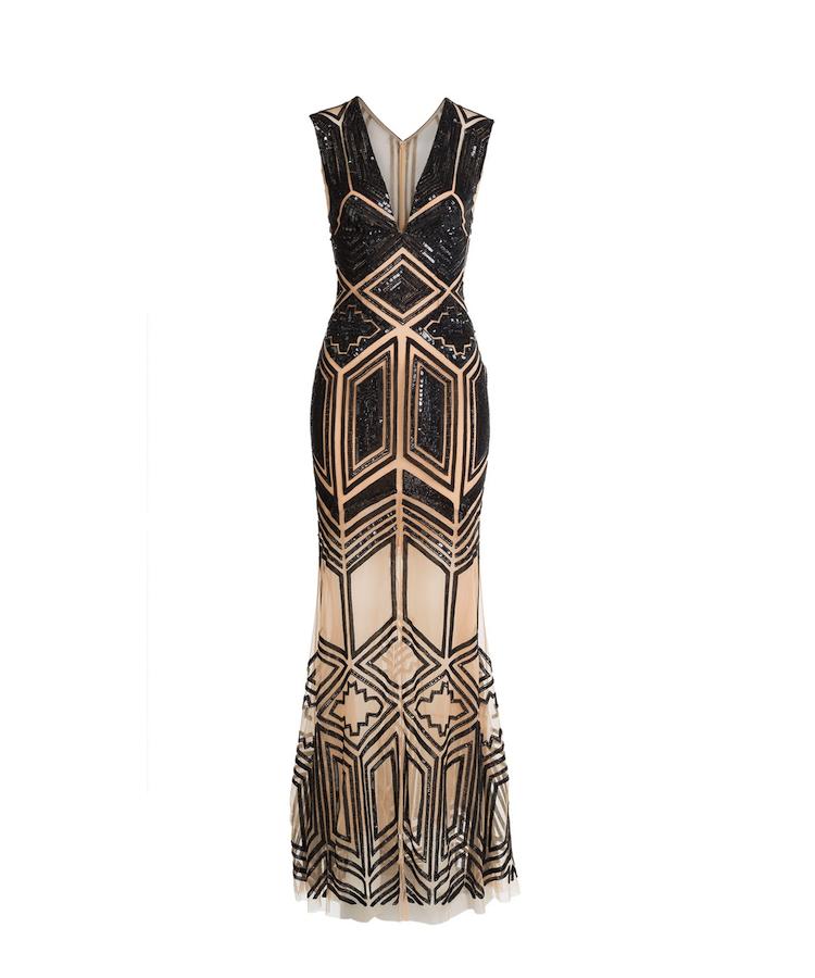 Art Deco Evening Gown   Zuhair Murad   tntwedding   Pinterest
