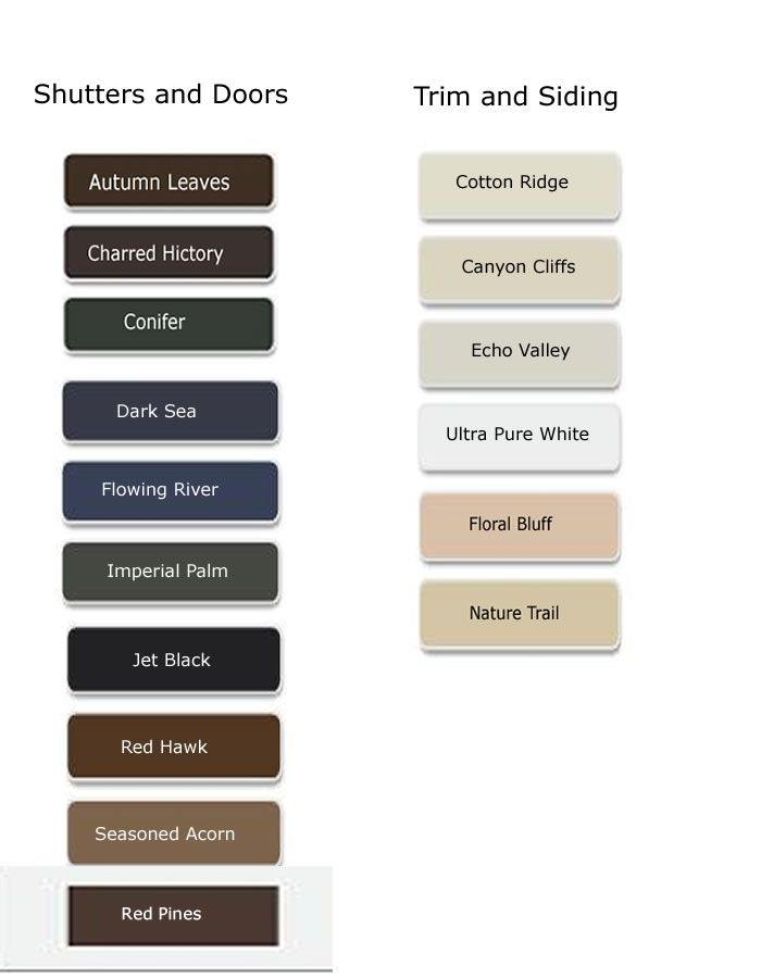 behr paint color chart color palette exterior paint. Black Bedroom Furniture Sets. Home Design Ideas