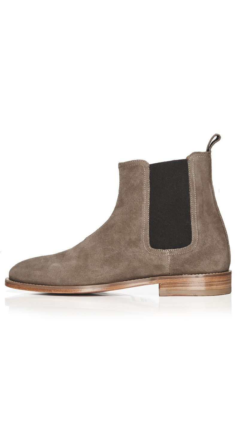 Chelsea Boot Taupe Represent Clo Chelsea Boots Boots Taupe