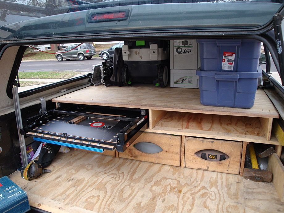 Image Result For Truck Bed Table Saw Storage Mini