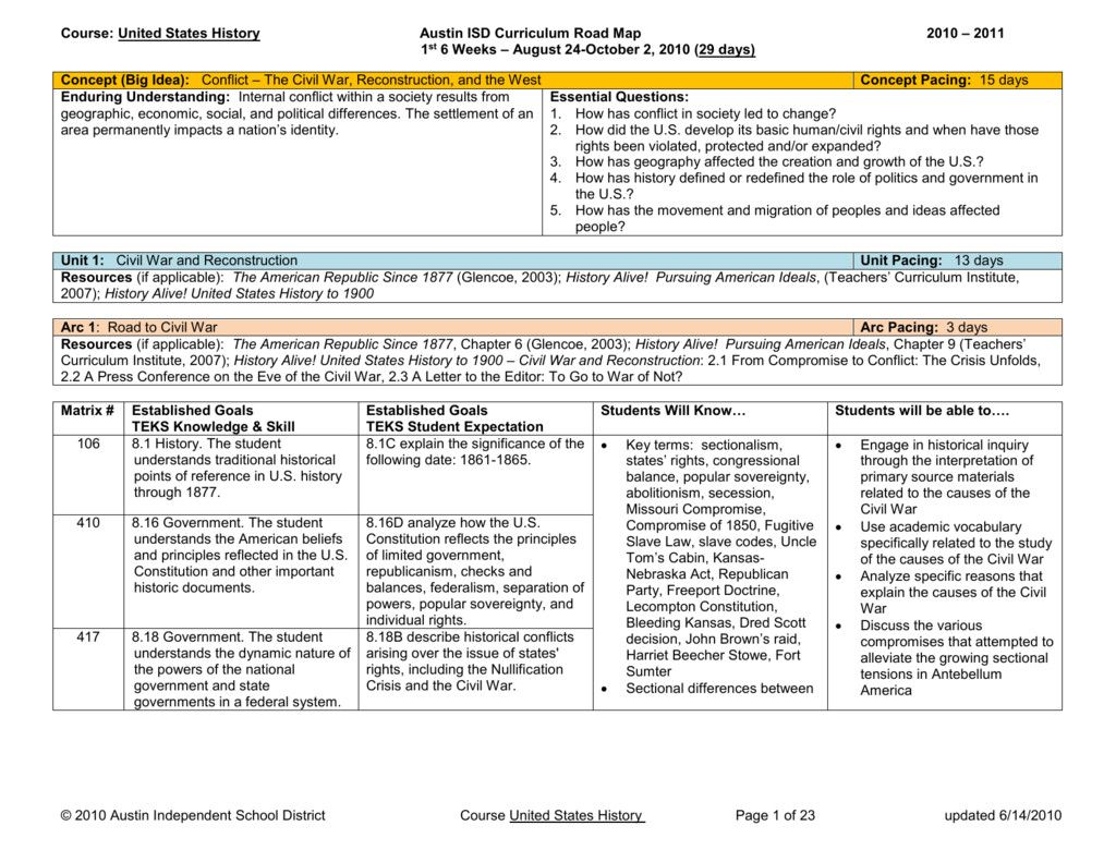 Teachers Curriculum Institute Worksheet Answers