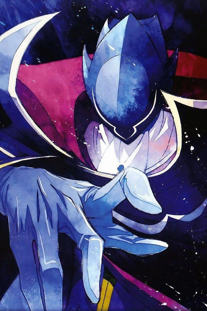 Code Geass Zero Lelouch Anime Poster