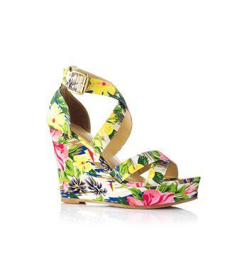 ¡Sandalias floreadas 24,99€!