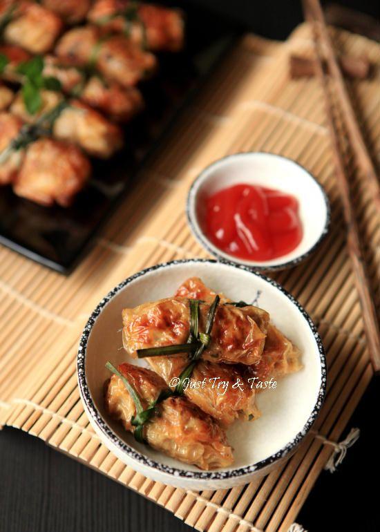 Resep Lumpia Isi Ayam Udang Dengan Kulit Kembang Tahu Lumpia Semarang Makan Malam Resep Masakan