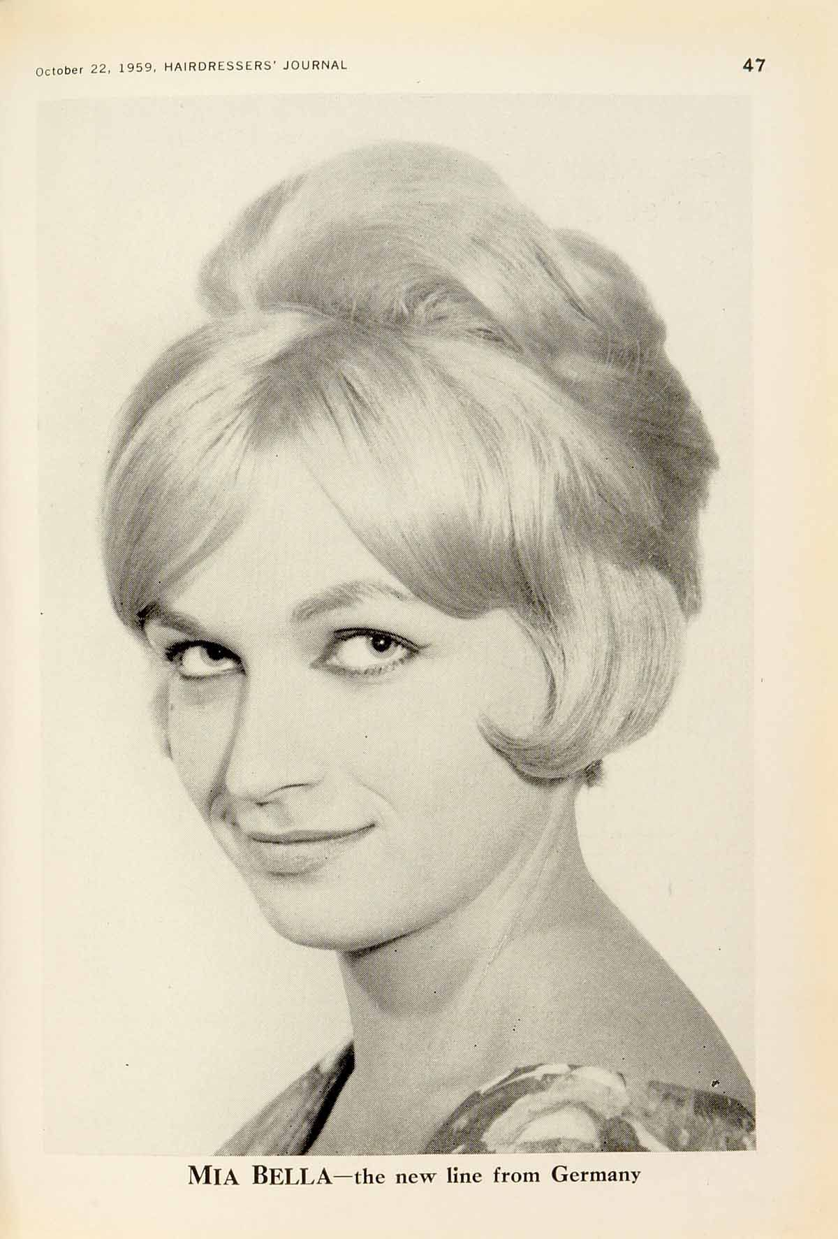 1950's HAIRSTYLES | 1950s - fashion from HJ - Hairdressing ...