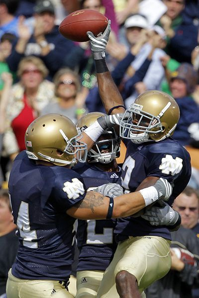 Notre Dame to Play for BCS Title! Way to go Irish ...