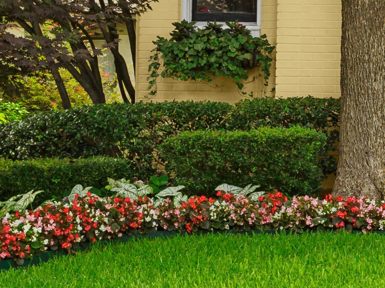 Colorful Flower Beds Front Flower Beds Front Yard Landscaping Garden Landscape Design