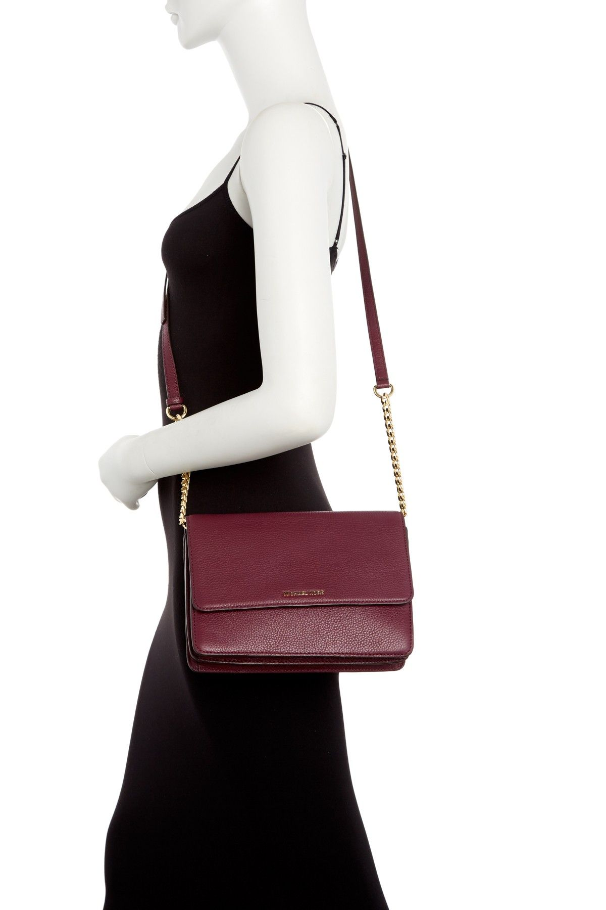 ab904d36cd88 MICHAEL Michael Kors - Large Daniela Leather Crossbody Bag is now 50% off.  rstyle.me/.