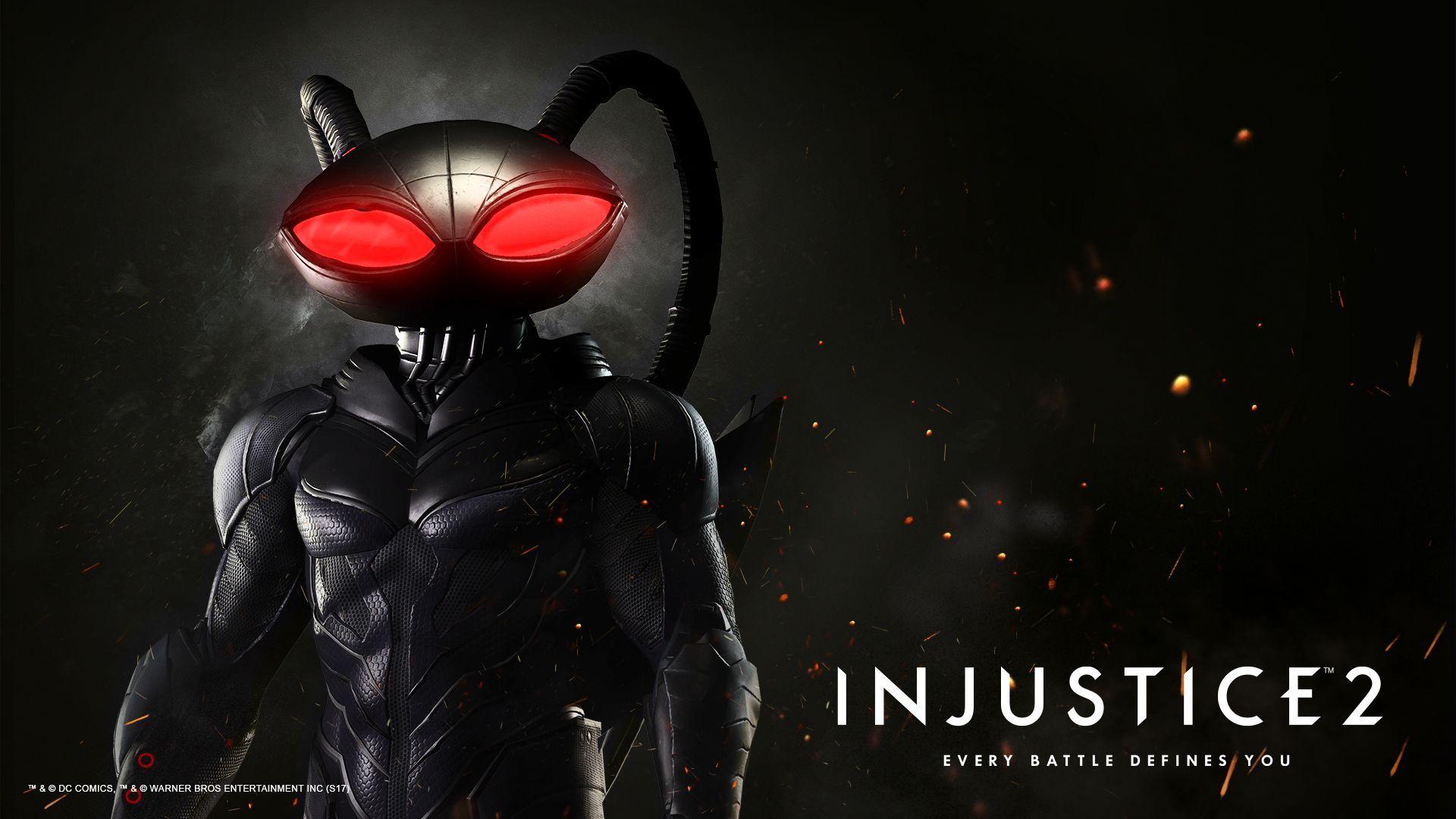Injustice2 Blackmanta Wallpaper 1920x1080 84 Jpg 1920 1080 Black Manta Injustice 2 Batman Red Hood