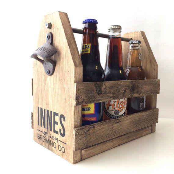Sale 6 Pack Holder Beer Carrier Wood Beer Caddy Groomsmen Etsy In 2020 Beer Wood Beer Carrier Beer Caddy
