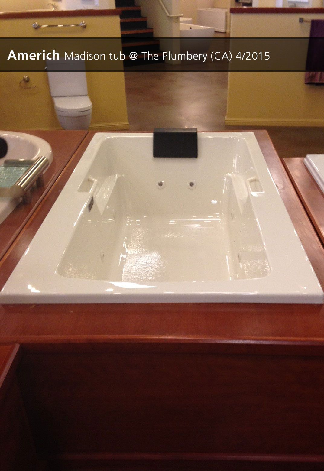 Americh Madison Tub The Plumbery Rocklin Ca 4 2017