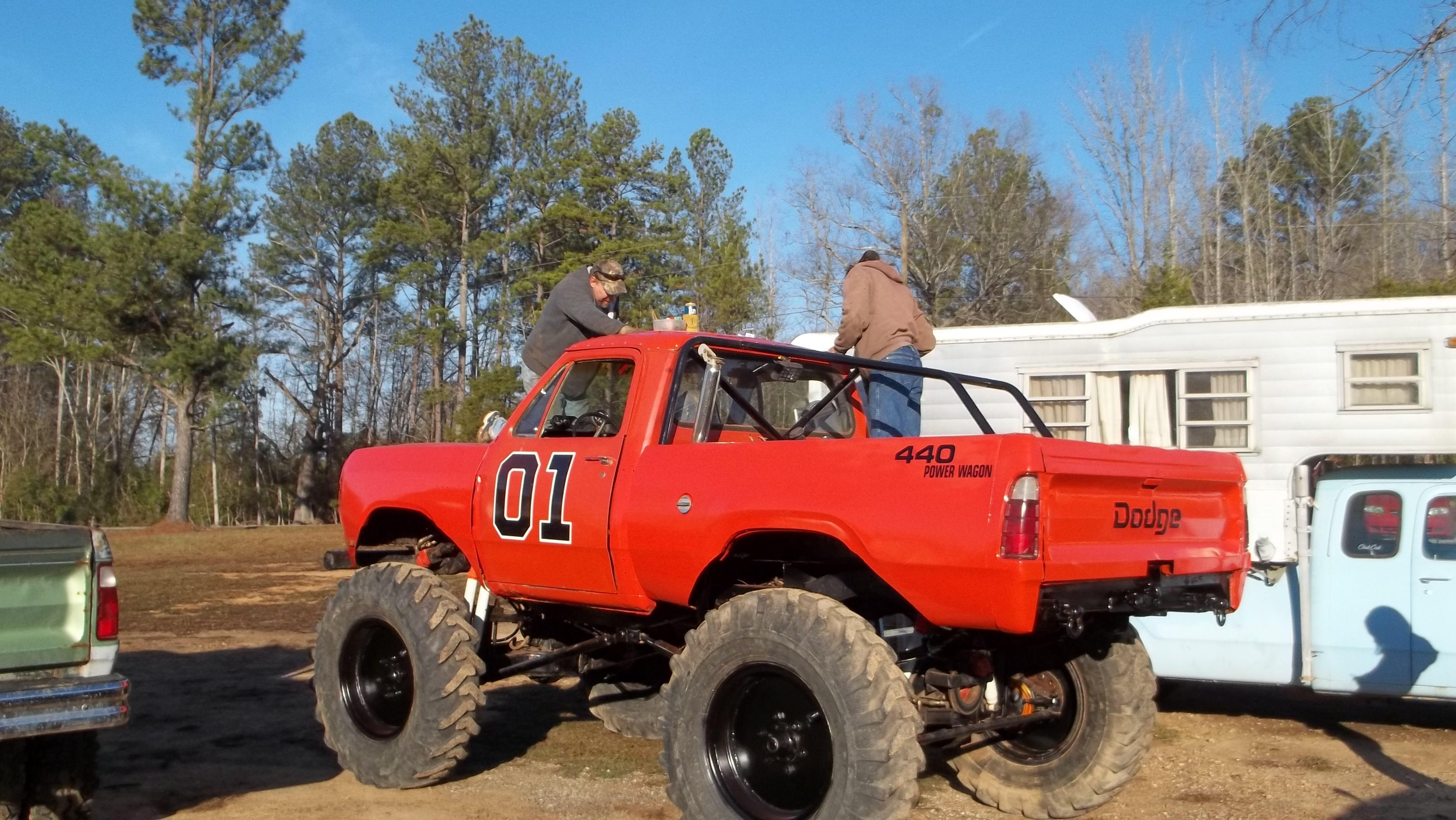 Trucks Mudding Buddy Nelson Amp His General Lee Mud Truck