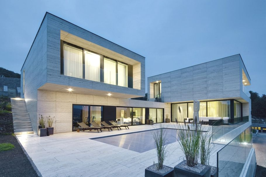 Modern villa design in Decin by Studio