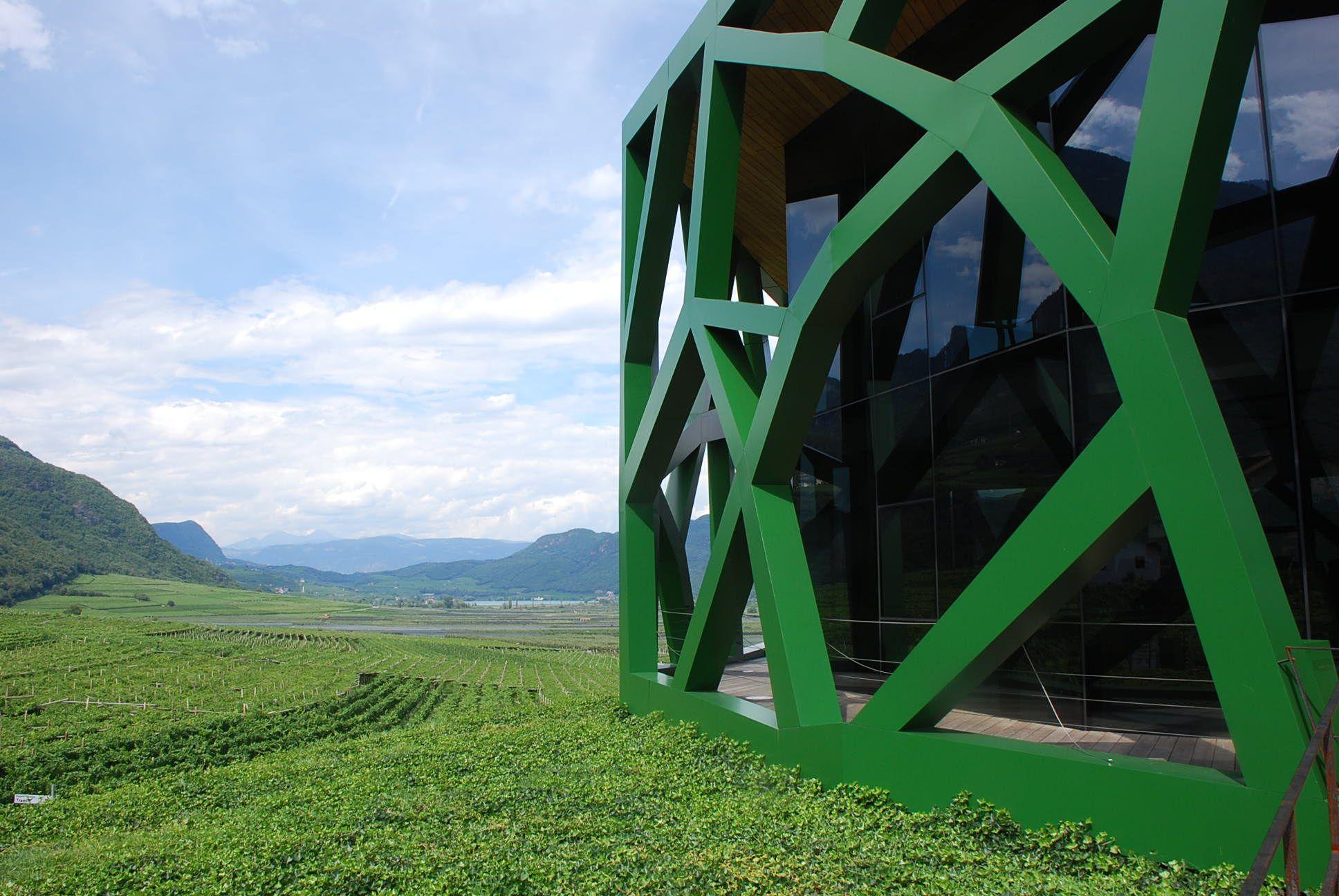 Wine Factory Termeno Italy by ndv www.nunziodavia.com