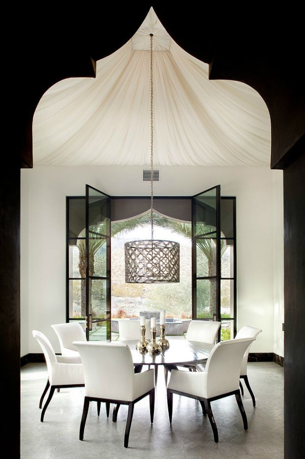 lujo Spectacural estilo marroqu interiores 6 Spectacural