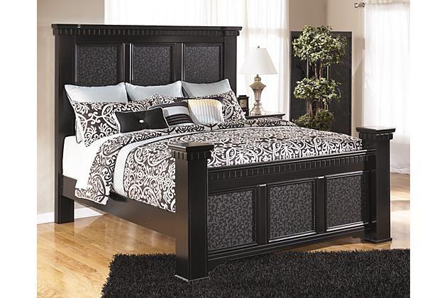 black cavallino king mansion bed view 1 furniture bedroom bed rh pinterest com