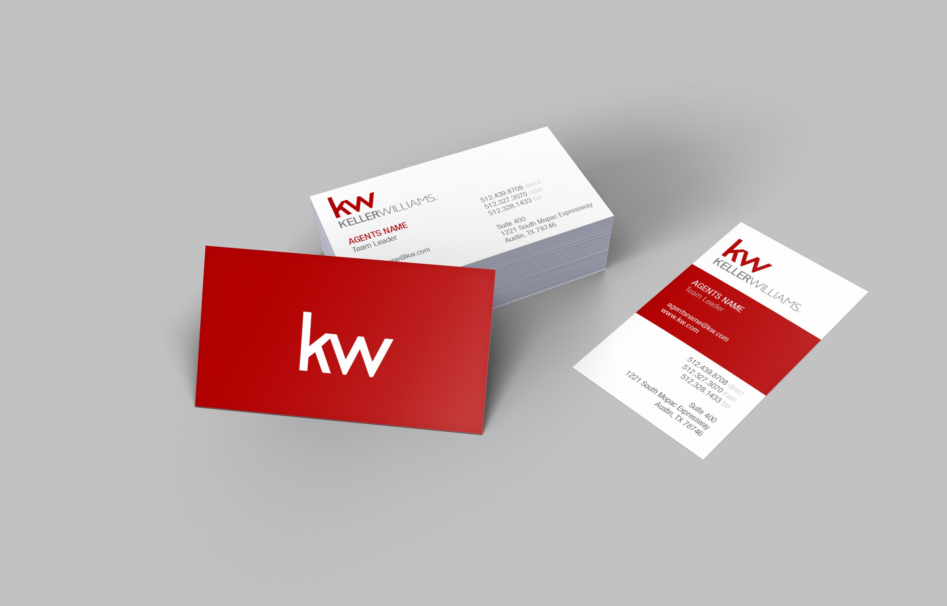 Bold slick and sophisticated the new Keller Williams